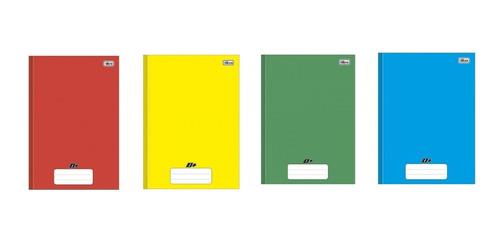 Caderno Brochura Univ. D+ 96 Folhas Kit C/4