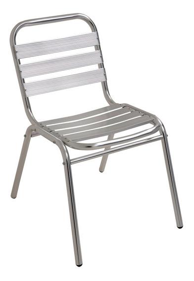 Cadeira Jardim Cozinha Em Alumínio Suporta Até 90 Kg Mor
