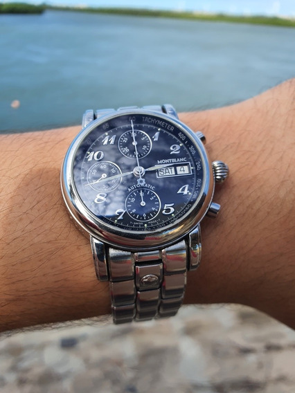 Montblanc Meisterstuck 7016 4810 - Day Date. Impecavel!