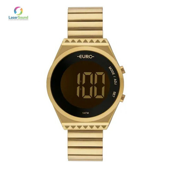 Relógio Euro Feminino Eubjt016aa/4d C/ Garantia E Nf