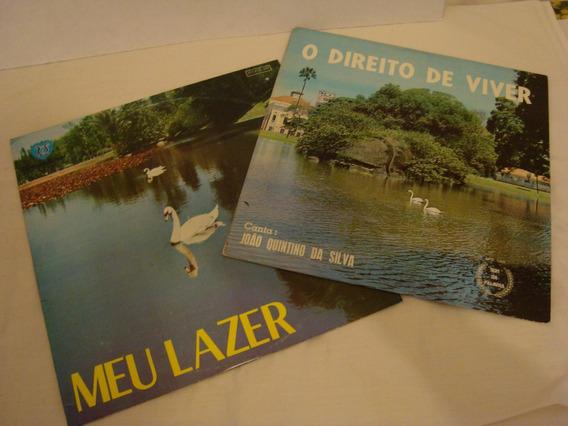 Lp: João Quintino Lote C/ 02 Lps Raridade