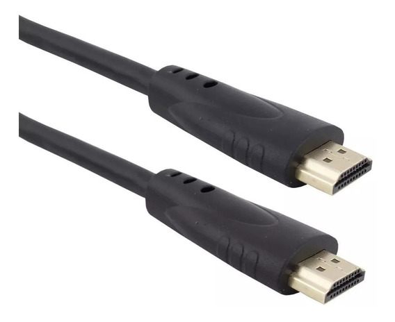 Cabo Hdmi 1 Metro 3d Full Hd Pra Vídeo Game Receptor De Tv