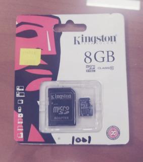 Memoria Micro Sd + Adaptador