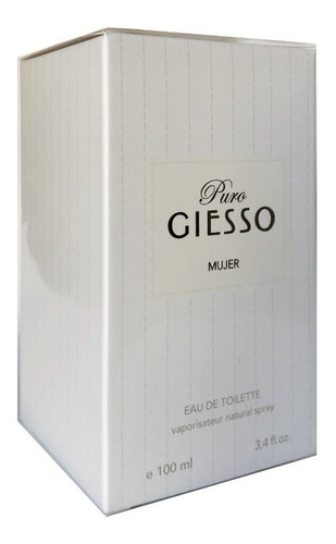 Perfume Mujer Giesso Puro Edt 100 Ml