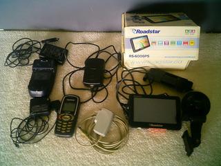 Lote Eletrônico Celular E Carregadores.