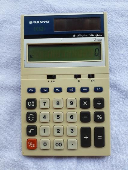Calculadora Antiga Sanyo