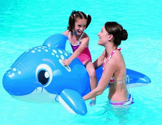 Flotador Delfin Inflable Salvavidas Para Niños Juguete