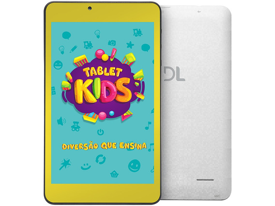 Tablet Dl Tx 394 Kids C10 7 +capa Bumper