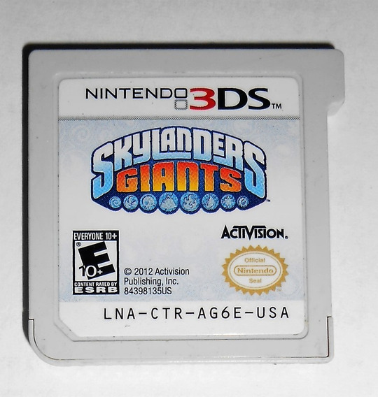 Skylanders Giants Original 3ds Cr $15