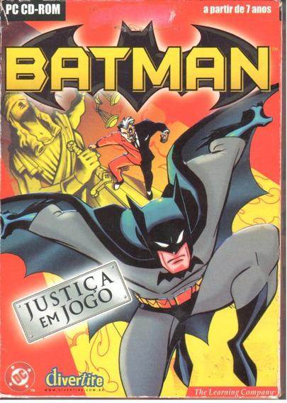 Batman Justiça Em Jogo Jogo Pc Original Mídia Física Lacrado