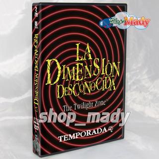 La Dimension Desconocida Temporada 4 En Dvd Español Latino