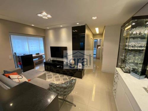 Apartamento Com 2 Dormitórios À Venda, 69 M² Por R$ 870.000,00 - Vila Guarani (zona Sul) - São Paulo/sp - Ap1269