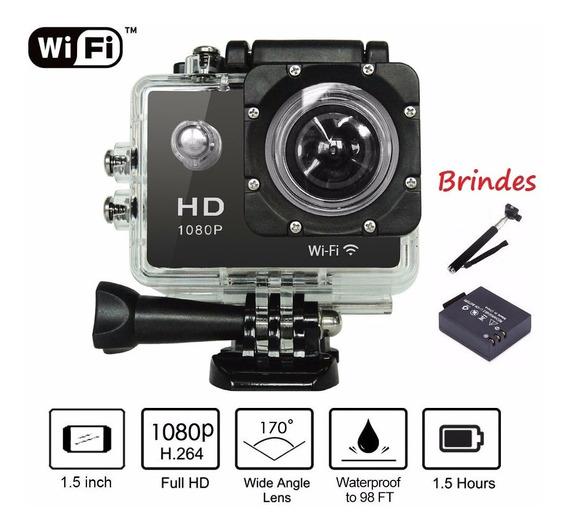 Camera De Acao Filmadora Wi-fi Prova D