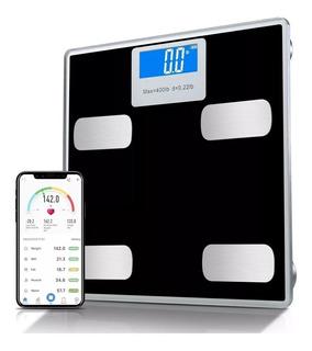 Balança De Precisão Bioimpedância Digital Banheiro Bluetooth