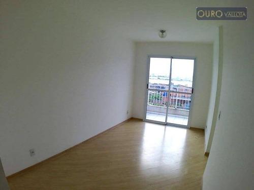 Apartamento Com 2 Dormitórios Para Alugar, 47 M² Por R$ 1.300,00/mês - Quinta Da Paineira - São Paulo/sp - Ap2853