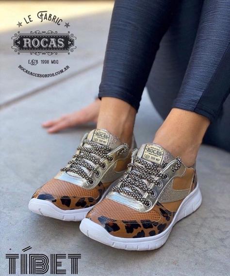 Zapatillas Rocas Tibet Print