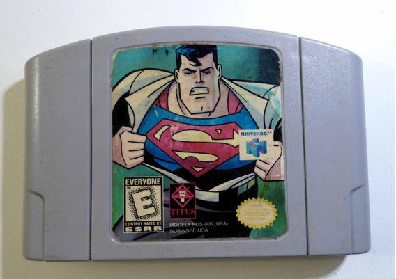 Superman Nintendo 64 Cartucho Original Frete Grátis