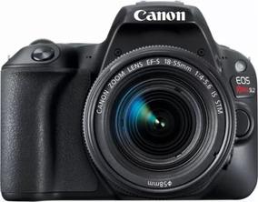 Câmera Canon Eos Sl2 24.2mp + Ef-s 18-55 Stm (lançamento)