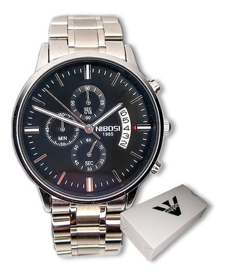 Relógio Nibosi 2309 Masculino Importado Funcional + Brinde