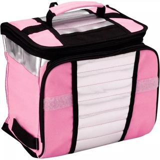 Bolsa Sacola Térmica Ice Cooler Rosa 7,5 Litros Mor Promoção