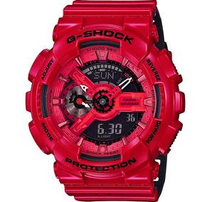 Relógio Casio Masculino G-shock Original Nota Ga-110lpa-4adr
