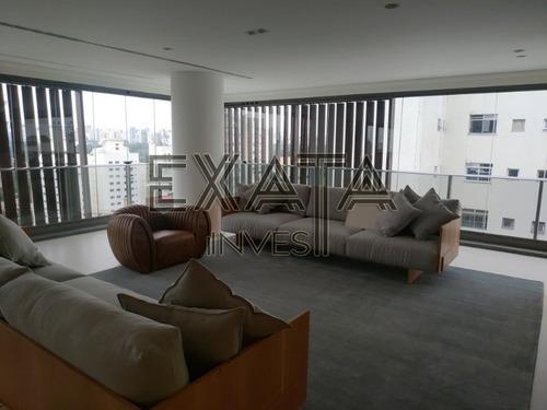 Imagem 1 de 30 de Apartamento À Venda Vila Nova Conceição, Com  255,39 M² Living Com Varandas, 4 Dormitórios, Suítes, 4 Vagas De Garagem. Obs: Fotos Do Tipo Decorado. - Ap00227 - 68201828