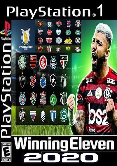 Patch Winninng Eleven 2020 Brasileirão A E B,jogos Ps1,atual