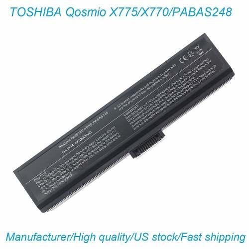Bateria Para Toshibaqosmio X770 X775 Pa3928u-1brs Pabas248