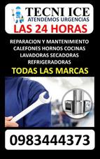 Reparación De Calefones Cocinas Hornos Lavadoras Refrigerado