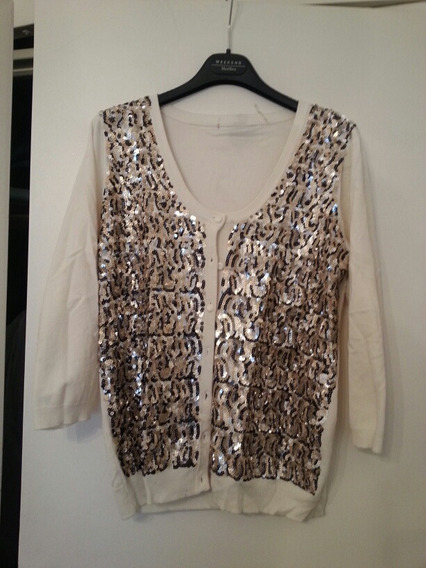 Cardigan C Canutillos Impecable T L Impecable