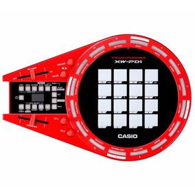 Controlador Dj Casio Trackformer Xw-pd1 Na Cheiro De Musica