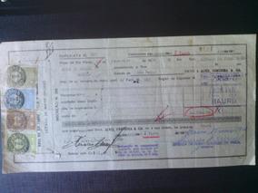 Uma Promissora Duplicada Com Selos Fiscais - 1951 - M.g
