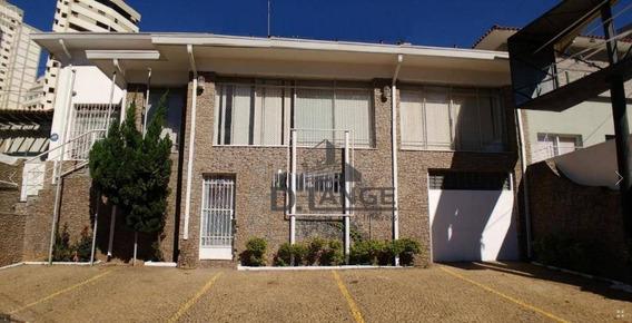Casa Comercial Para Locação, Cambuí, Campinas. - Ca12202
