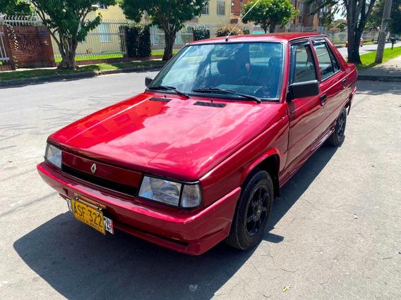 Renault R 9 Gts Mt1300cc Rojo Sa Rines