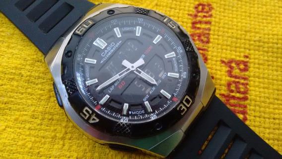 Relógio Casio Aq 164w Raro - Liquidação De Janeiro