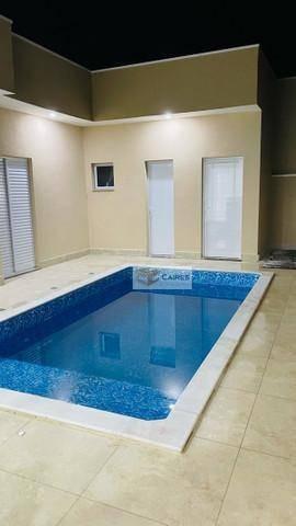 Casa Com 3 Dormitórios À Venda, 180 M² Por R$ 730.000,00 - Condomínio Olivio Franceschini - Hortolândia/sp - Ca3172