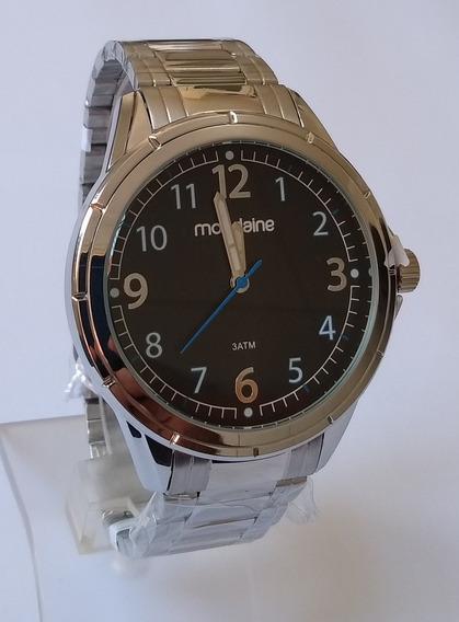 Relógio Masculino Mondaine Prateado Original 83438gomvne1.