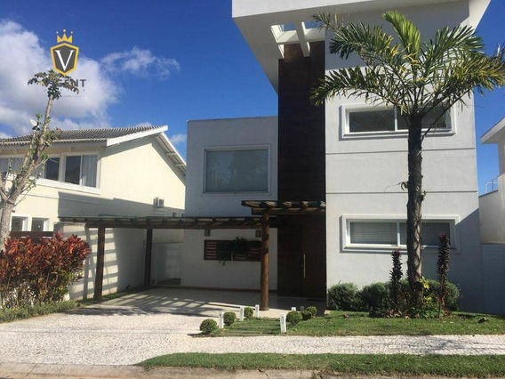 Maravilhosa Casa À Venda Com 3 Suítes No Condomínio Quintas Do Lago No Jardim Novo Mundo - Ca1213