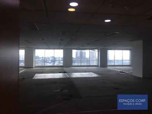 Conjunto Comercial Para Alugar, 173m² - Brooklin - São Paulo/sp - Cj1816