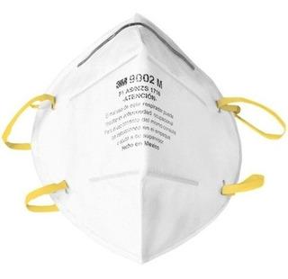 500 Mascarillas Proteccion Polvos Y Neblinas (plegable) 3m