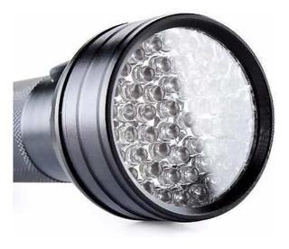Lanterna Uv Ultra Violeta 51 Leds Esporpiao Luz Negra