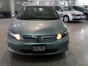Honda Civic Hybrido Factura Y Servicios De Agencia Un Dueño