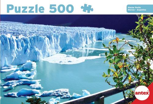 Puzzle 500 Piezas Glaciar Perito Moreno Argentina 3055 Antex