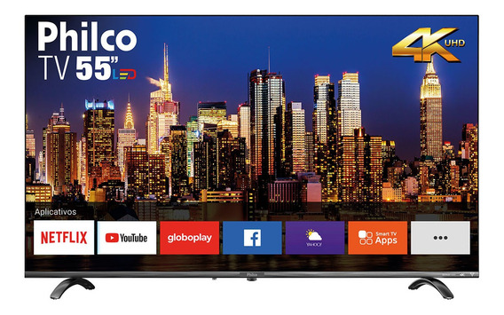 Smart Tv Philco 55 Ptv55q20snbl 4k Led
