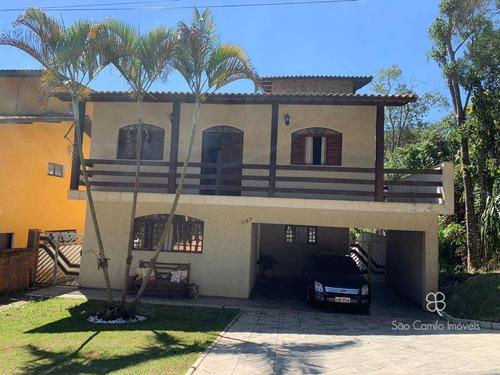 Casa Com 3 Dormitórios À Venda, 292 M² Por R$ 850.000,00 - Granja Viana - Itapevi/sp - Ca2011