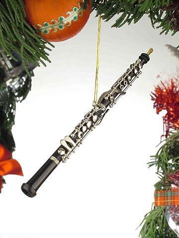 Adornos,negro Music Oboe Instrumento Musical Del Ornamen..