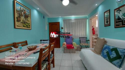 Apartamento No Centro De Peruibe Com 2 Dormitórios , Proximo A  Varios Comércios Mirian Imóveis - Ap00189 - 69313123
