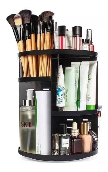 Organizador Maquillaje Pinceles Cremas Giratorio Estantes