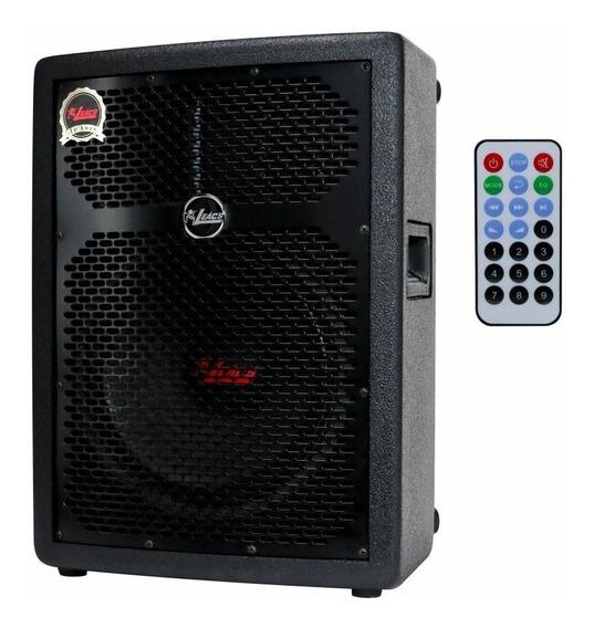 Caixa Ativa Amplificada Som 10 Usb Bluetooth 150w Leacs Nfe