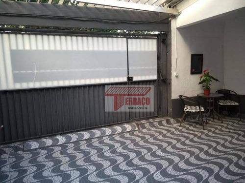 Casa Com 3 Dormitórios À Venda, 145 M² Por R$ 480.000,00 - Vila Cecília Maria - Santo André/sp - Ca0865
